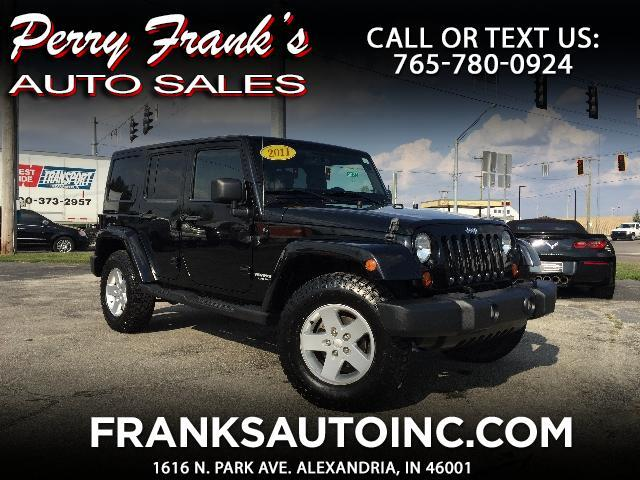 2011 Jeep Wrangler Unlimited Mojave 4WD