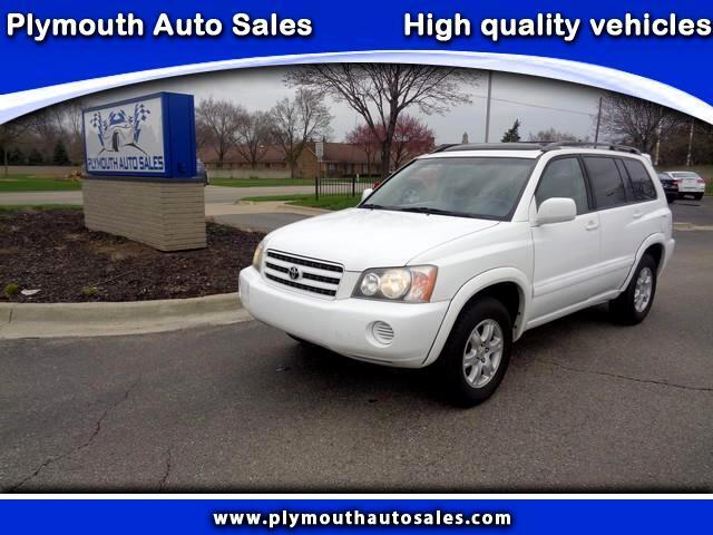 2002 Toyota Highlander Limited V6 4WD