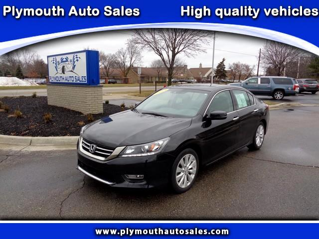 2013 Honda Accord EX-L V6 Sedan AT