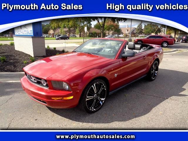 2009 Ford Mustang V6 Premium Convertible