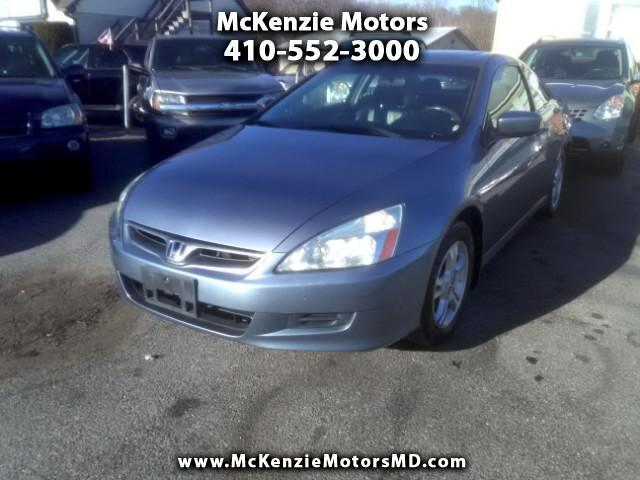 2007 Honda Accord EX-L Coupe AT with Navigation