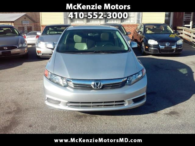 2012 Honda Civic EX sedan AT