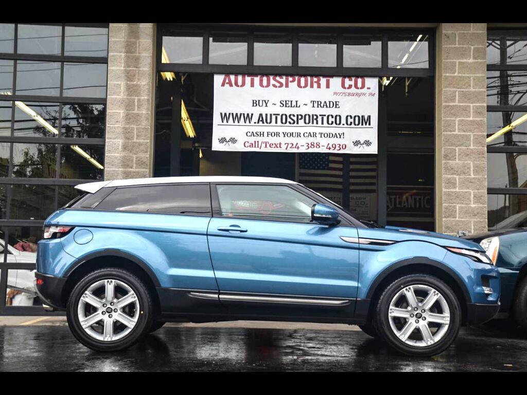 2013 Land Rover Range Rover Evoque Pure Premium 3-Door