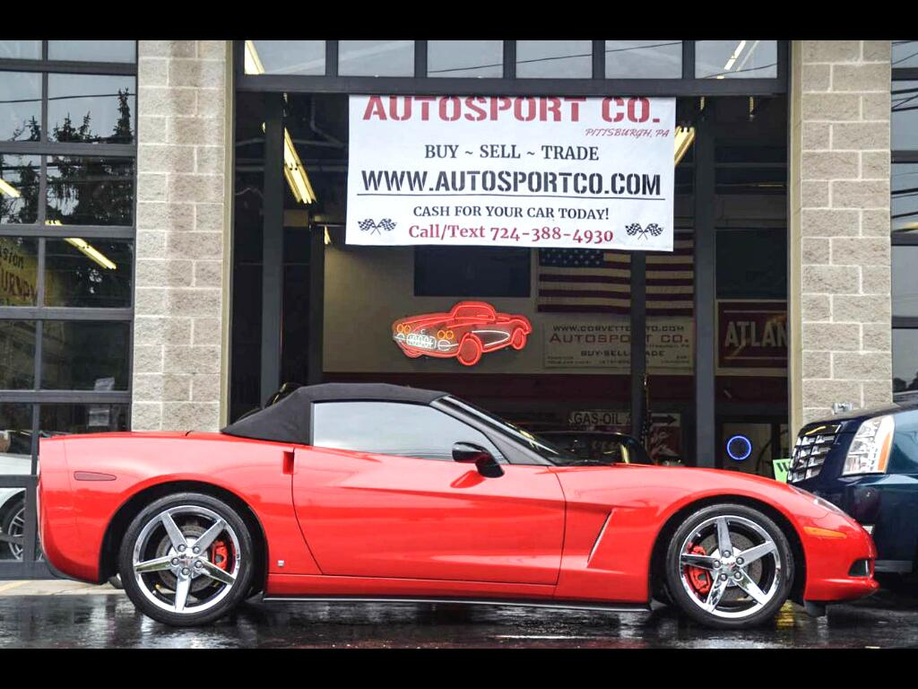 2007 Chevrolet Corvette Convertible LT3 w/ Z51 Package