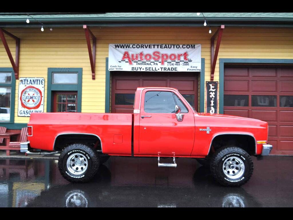 1984 Chevrolet C/K 10 Fully Loaded Cold AC Arizona Truck!