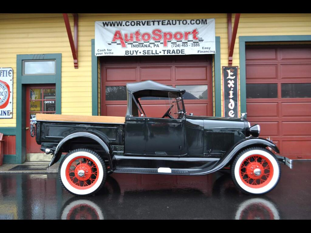 1929 Ford Model A Oringinal Open Cab Convertible California Truck