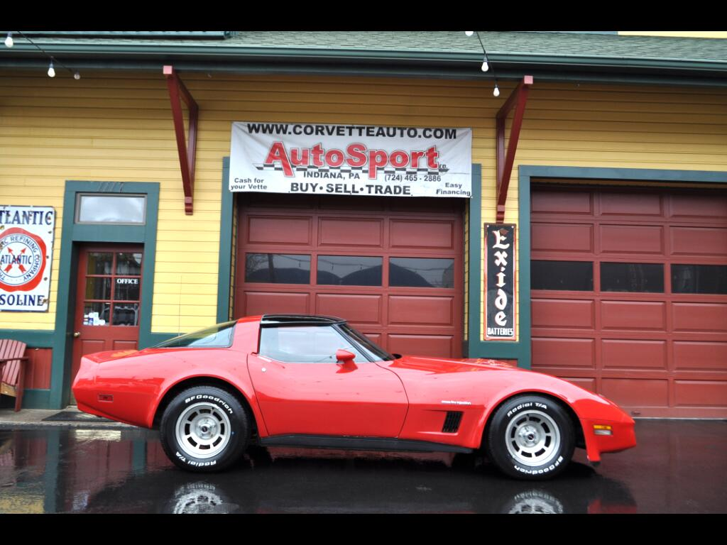 1982 Chevrolet Corvette One Owner! Org. Docs! Clean Car Fax!