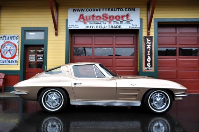 1963 Chevrolet Corvette Saddle Tan