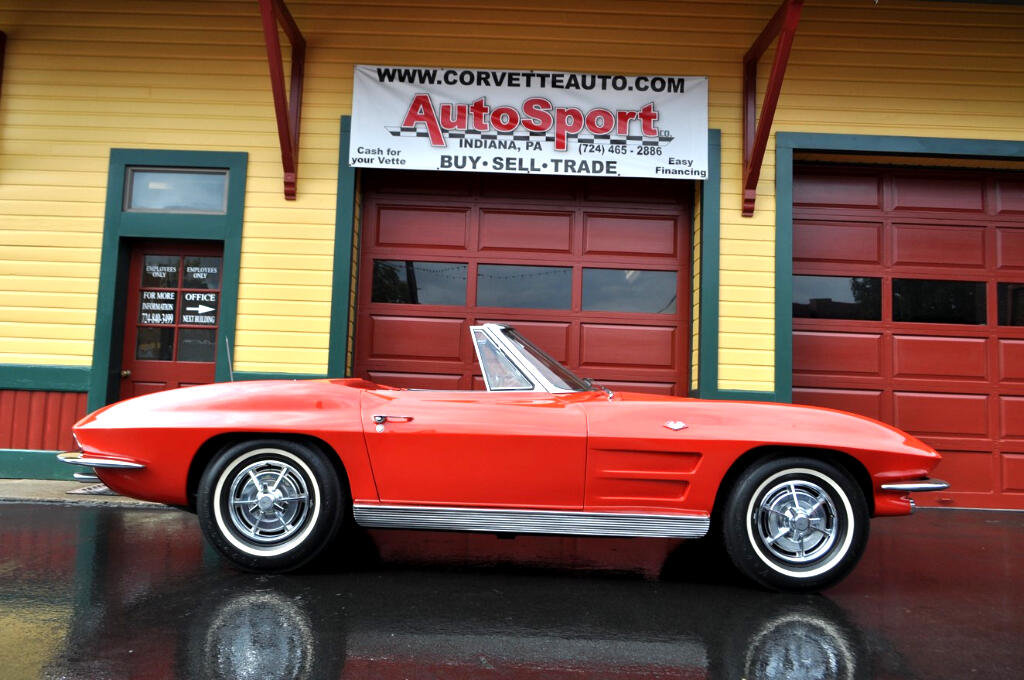 1963 Chevrolet Corvette 1963 Born Riverside Red/Black 4sp
