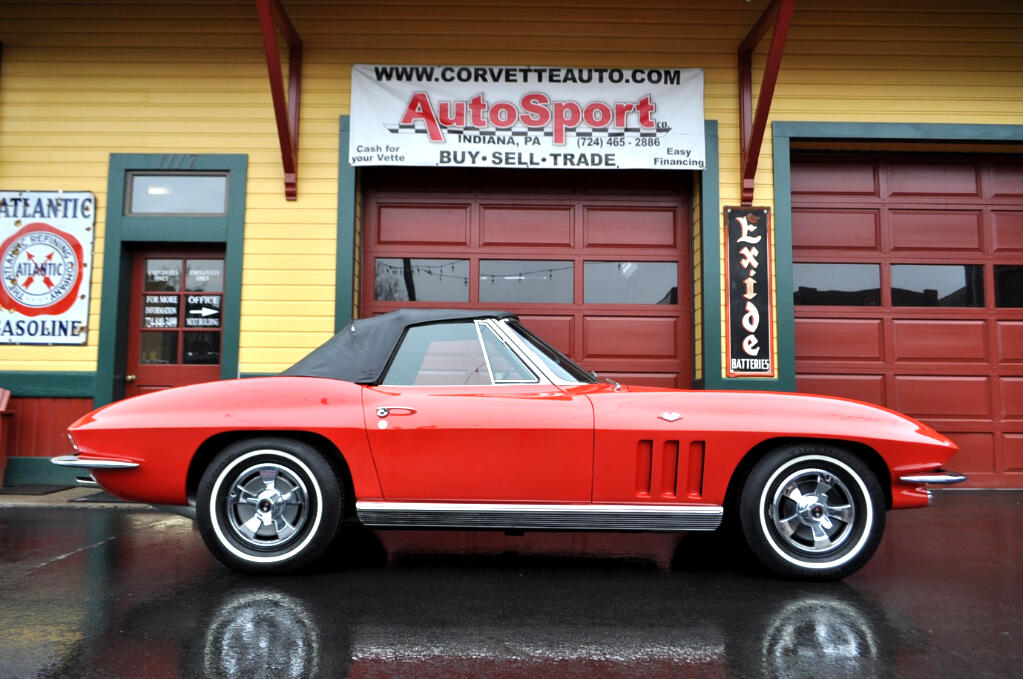 1966 Chevrolet Corvette Numbers Matching Rally Red