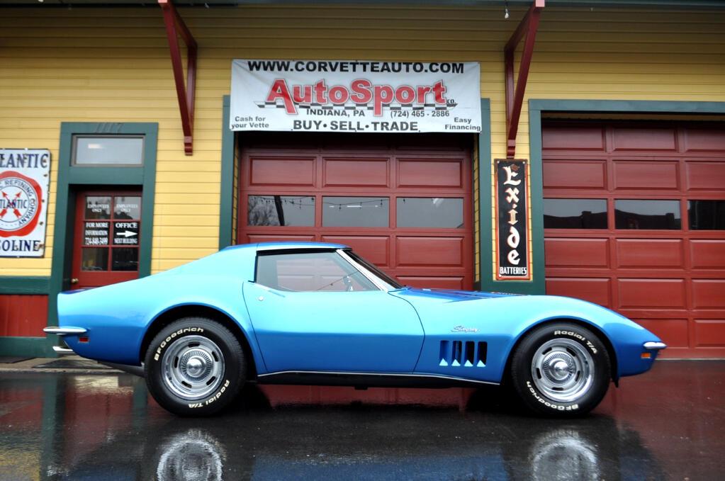 1969 Chevrolet Corvette 400hp Factory AC Tank Sheet