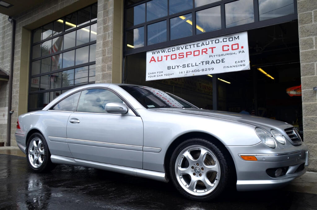 Used 2002 mercedes benz cl class cl55 amg for sale in for Mercedes benz cl55 amg for sale