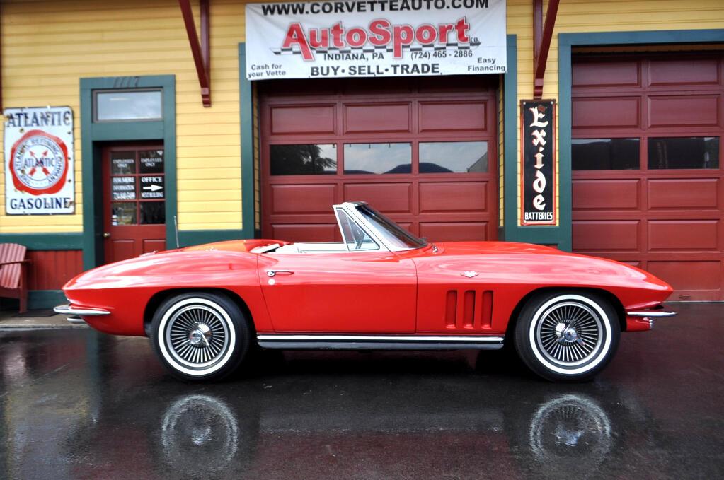 1965 Chevrolet Corvette NCRS Top Flight Award Winner Rare Colors