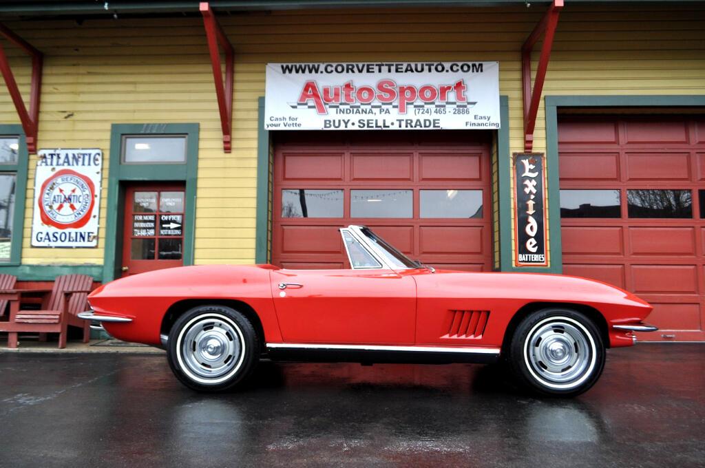 1967 Chevrolet Corvette Red Red Frame Off Restored