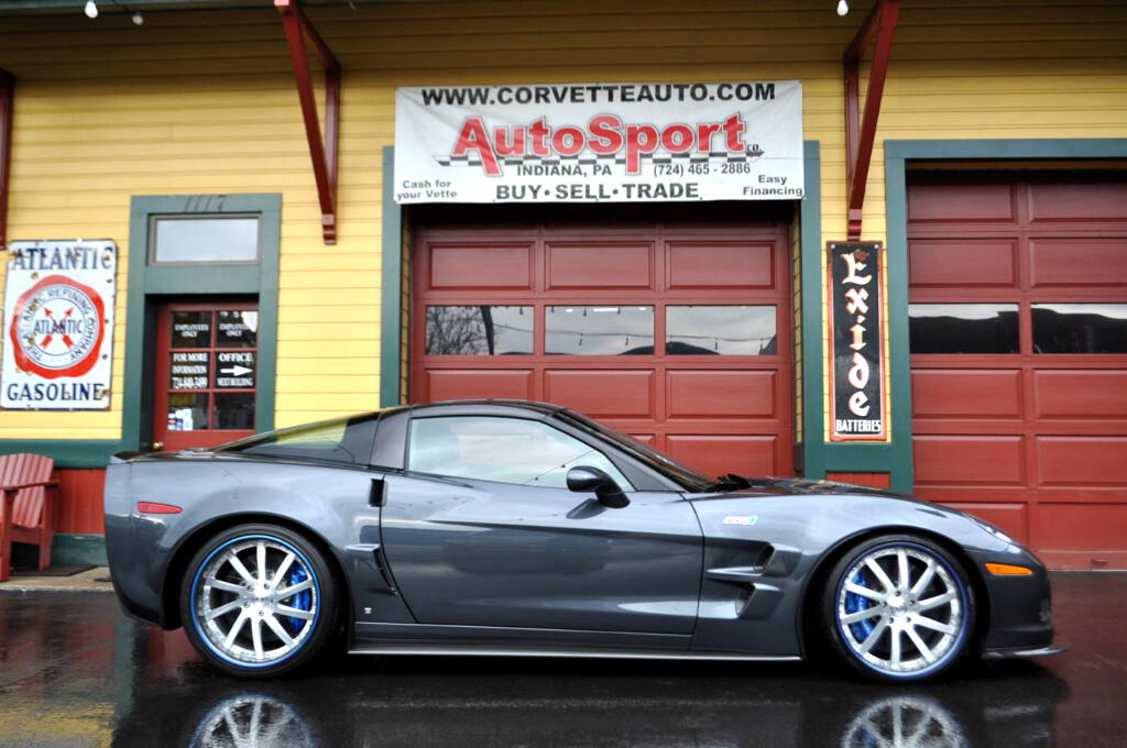 2010 Chevrolet Corvette ZR1 Custom 3ZR Celebrity Owned