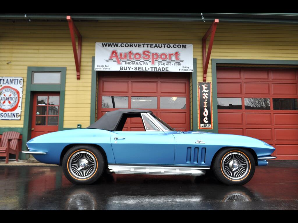 1966 Chevrolet Corvette Nassau Blue Frame Off Resto 425hp!