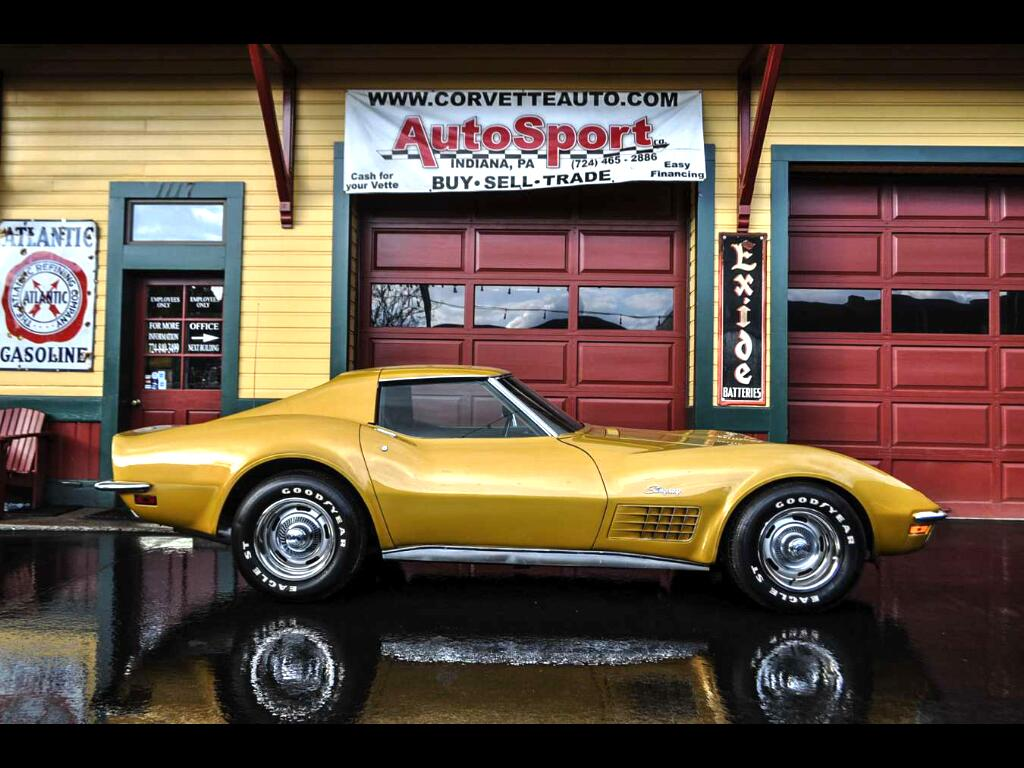1971 Chevrolet Corvette Loaded With Factory Options! AC PB PS PW