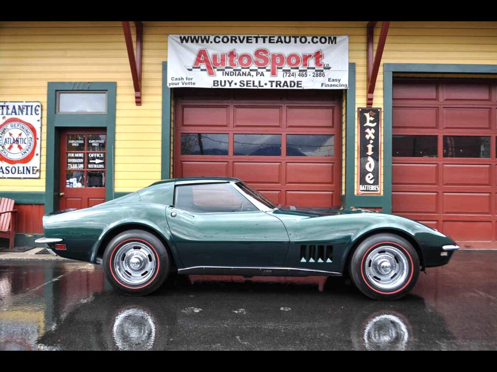 1968 Chevrolet Corvette 427ci Big Block 4-Speed #s Matching