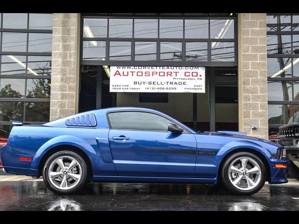 2008 Ford Mustang GT Premium California Special Coupe