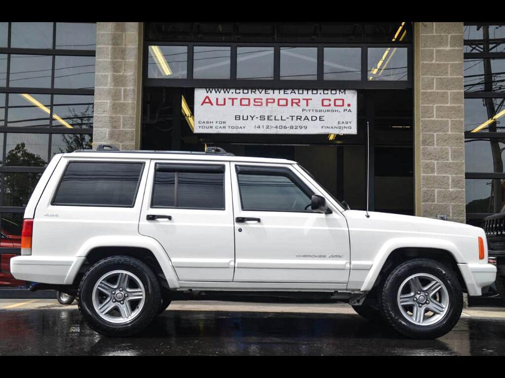 2001 Jeep Cherokee Classic 4-Door 4WD