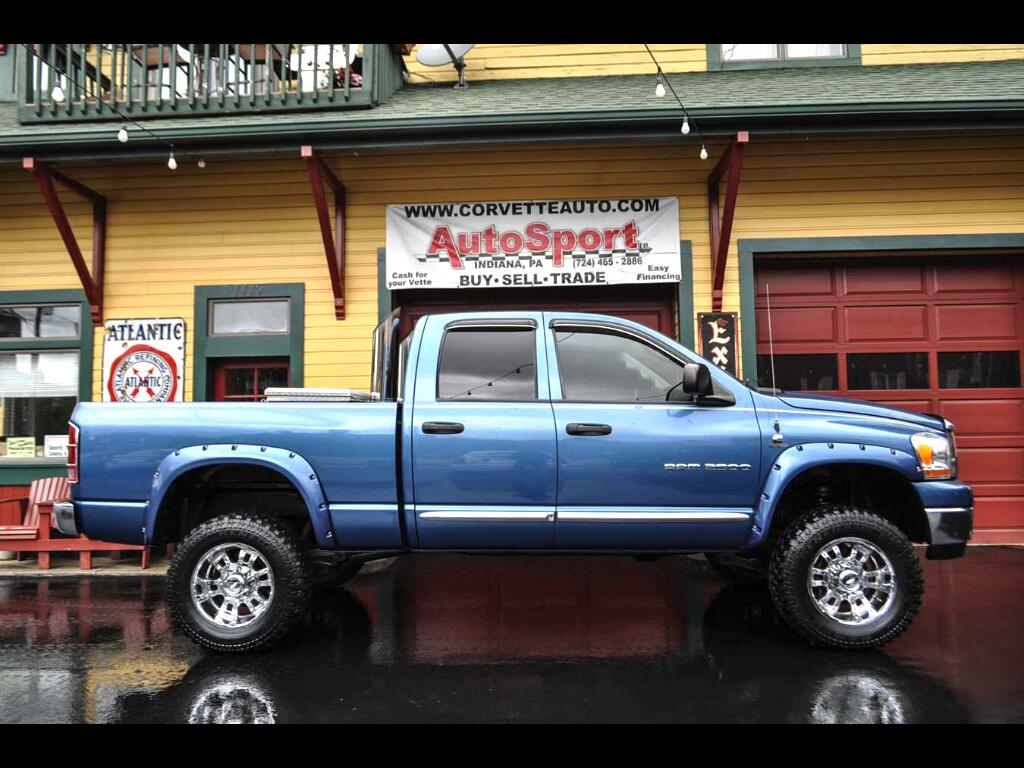 2006 Dodge Ram 2500 TRX4 Off Road Quad Cab 4WD
