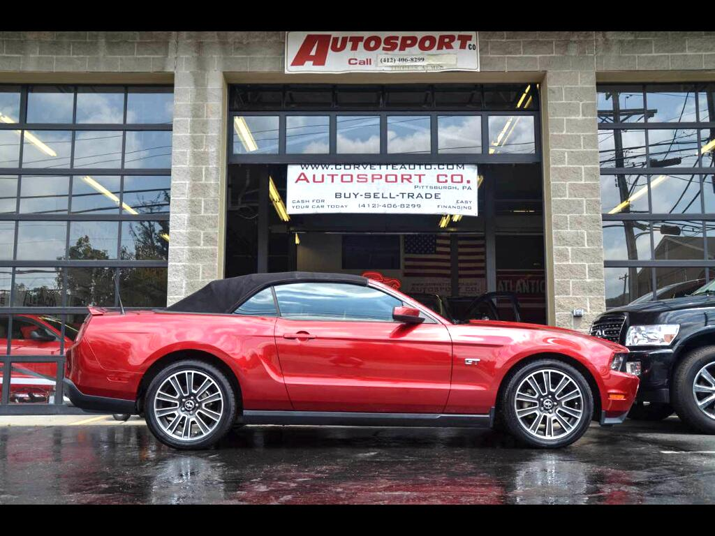 2010 Ford Mustang GT Premium Convertible