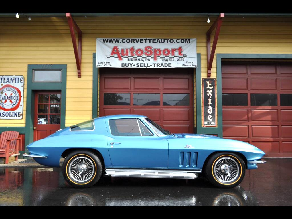 1966 Chevrolet Corvette 427ci 390hp Factory AC 4sp Loaded!