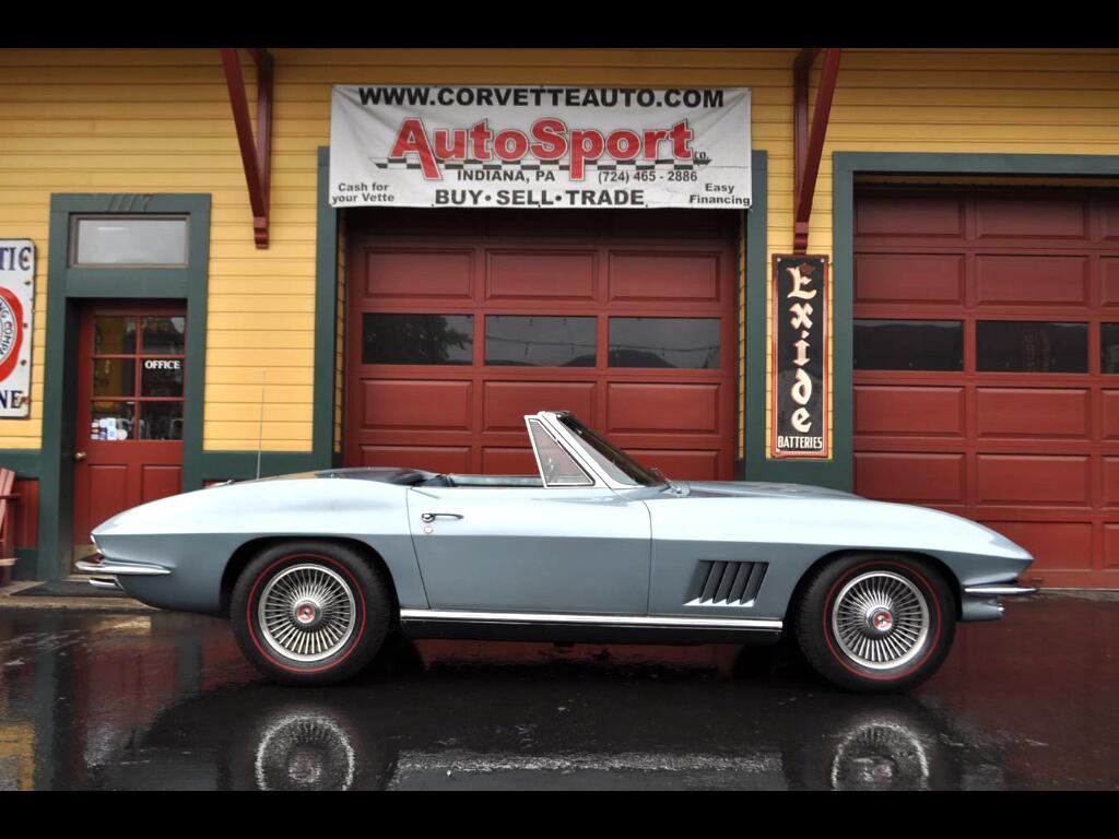 1967 Chevrolet Corvette #'s Matching Elkhart Blue/Teal