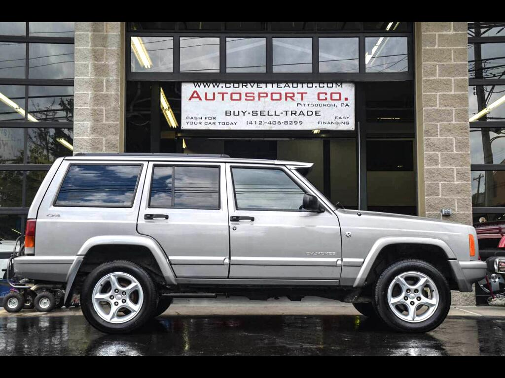 2001 Jeep Cherokee 60th Anniversary Edition - Classic