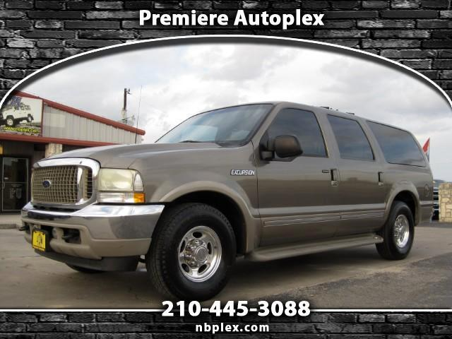 2002 Ford Excursion Limited 7.3L Powerstroke Turbo Diesel 2WD 1 Owner