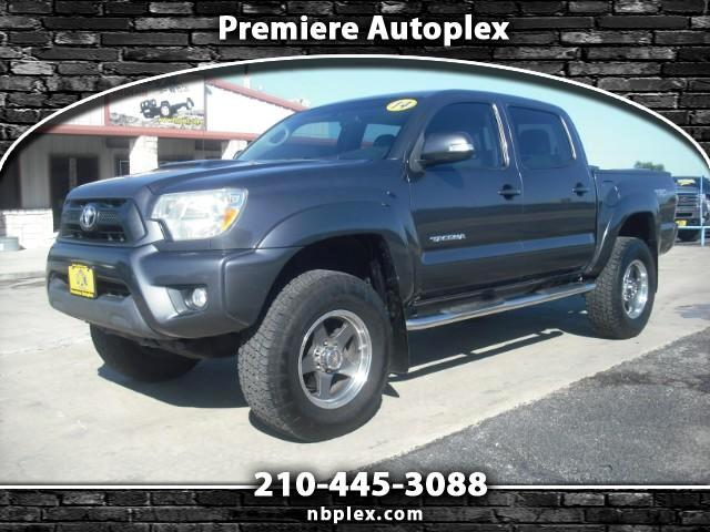 2014 Toyota Tacoma PreRunner TRD Sport Double Cab 4.0L V-6 Lifted 33
