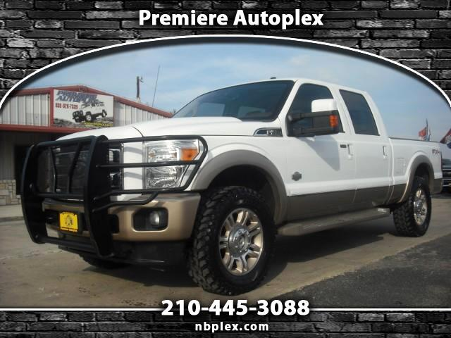 2011 Ford F-250 SD King Ranch Crew Cab 2.5