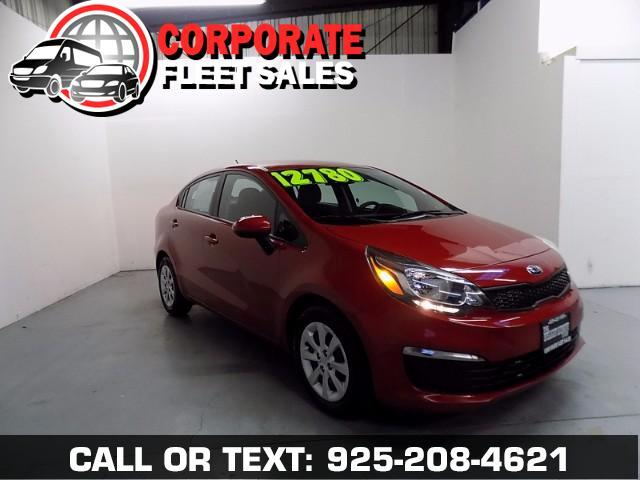 2017 Kia Rio LX MODEL ONE GREAT COMMUTER CAR--OVER 35 MPG ON THE OPEN ROAD AUTOMATIC TRANSMISSI