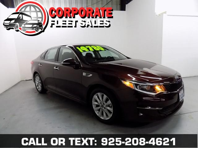2016 Kia Optima LX EDITION WITH KEYLESS ENTRY POWER WINDOWS POWER DOOR LOCKS ALLOY WHEELS AND A SUP