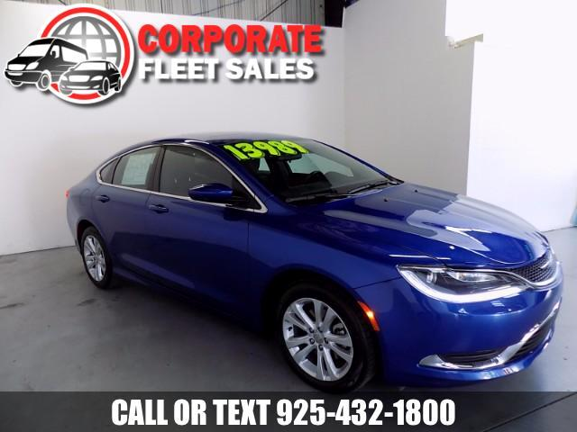 2015 Chrysler 200 CHRYSLER 200 LIMITED THE BEST OF ECONOMIC GAS SAVER AND LUXURY SEDAN ALL IN ONE