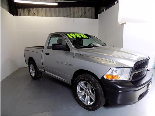 2012 RAM 1500 DODGE RAM 1500 REGULAR CAB TRADESMAN WOW THIS IS AN AWESOME TRUCK ESPECIALLY THE COOL