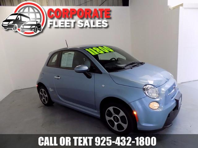 2015 Fiat 500e FIAT 500 E HATCHBACK HERE IT IS A FULLY LOADED ELECTRIC CAR WOW ONLY 8K MILES