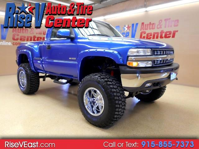 2002 Chevrolet Silverado 1500 LS 4x4 Step Side