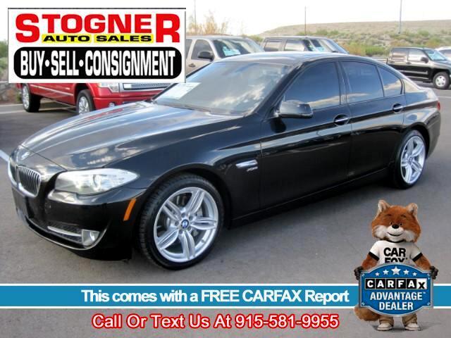 2012 BMW 5-Series 535i xDrive