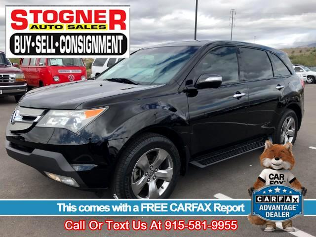 2007 Acura MDX 6-Spd AT w/Tech and Entertainment Package