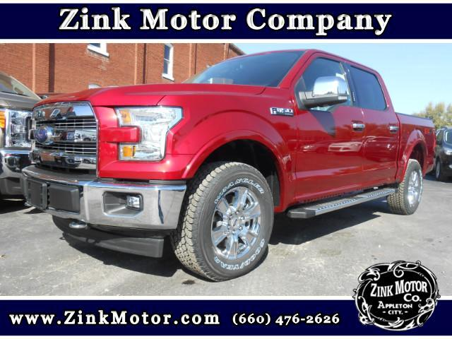 2017 Ford F-150 Lariat SuperCrew Short Bed 4WD