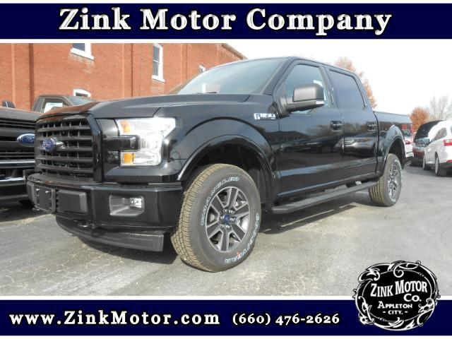 2017 Ford F-150 FX4 SuperCrew 5.5-ft. Bed 4WD