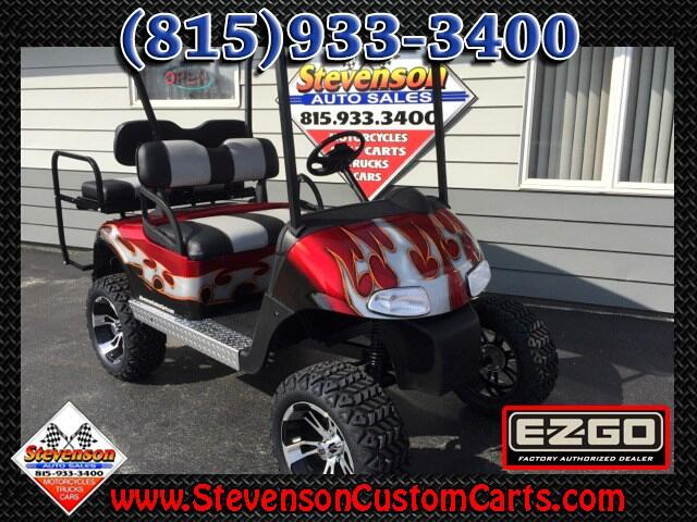 2012 EZGO RXV Lifted 4-Seat Electric Golf Cart