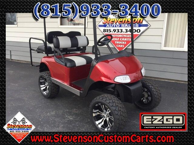2013 EZGO RXV Lifted 4 Seat Electric Golf Cart