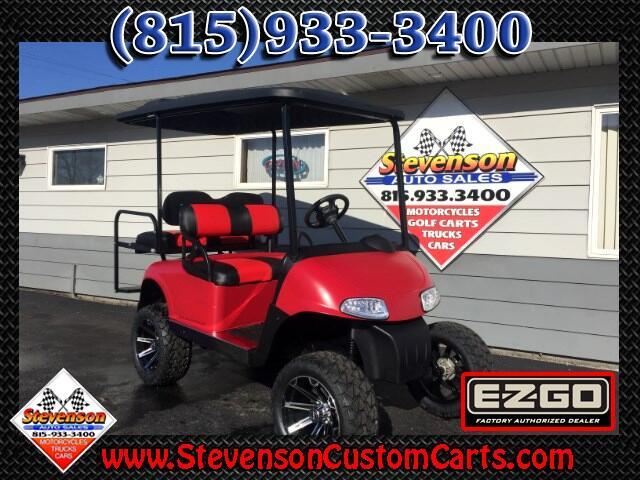 2013 EZGO RXV Lifted 4-Seat Custom Electric Golf Cart