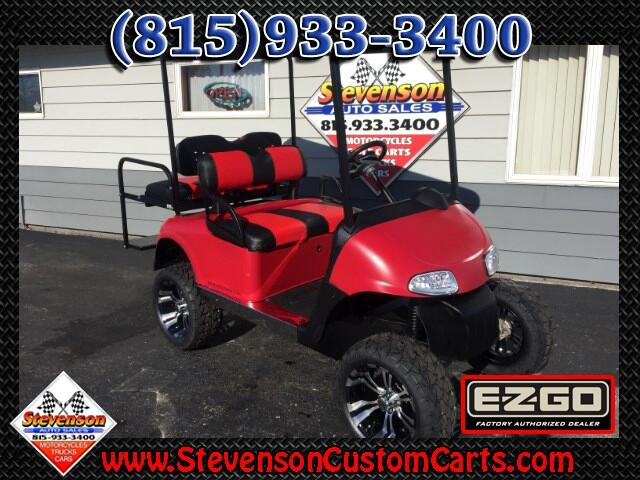 2013 EZGO RXV Lifted 4-Seat Custom Electric Golf Cart