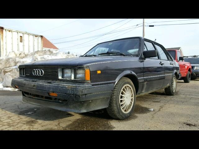 1984 Audi 4000 S quattro