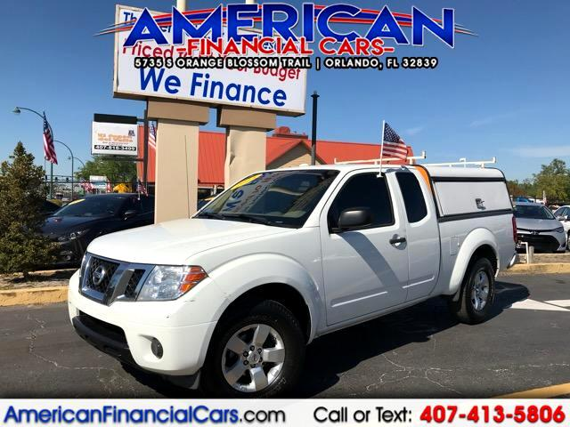 2013 Nissan Frontier Crew Cab 2WD