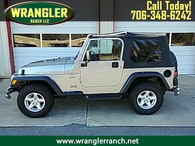 2000 Jeep Wrangler 2dr Sport
