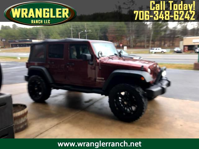 2010 Jeep Wrangler JK Unlimited Sport 4x4